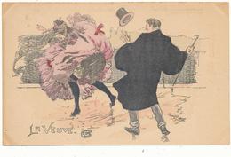 Georges CONRAD - La Veuve  - Femme Légère, Parisienne, French Cancan - Conrad