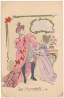 Georges CONRAD - La Mondaine  - Femme Légère, Parisienne, French Cancan - Conrad