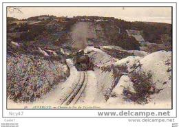 ( Dep 63 )   Chemin De Fer  En Puy-de-Dôme Locomotive - France