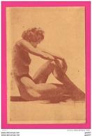 CPSM  (RÉF : VV747)  (NUS ADULTES) Femme Nue Visée Par La Cencure 1944 - Fine Nudes (adults < 1960)