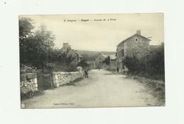 12 - GAGES - Avenue De La Poste Animée Bon état - Otros Municipios