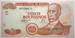 Bolivie - 20 Bolivianos - 2007 - PICK 234 - NEUF - Bolivia