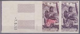 Oceanie - 1953 Gauguin - Paire Essais De Coleur - LIVRAISON GRATUITE - Other