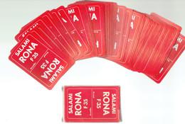 Jeu De Cartes 54 Cartes (avec Joker) Salami Rona Bruxelles - État Neuf, Jamais Utilisé - 54 Cards