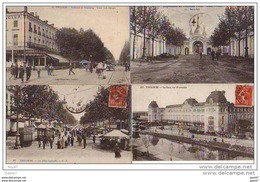 4 Cpa  (   Dep 31 )   à  TOULOUSE     Années  1908-1910 - Toulouse