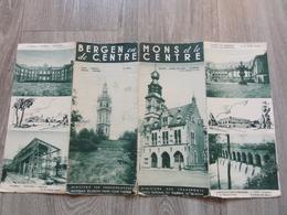 Folder - Dépliant  *  Mons Et Le Centre  - Binche, Mariemont, Ecaussinnes, Havre, Thuin, Soignies, Lobbes, Trazegnies .. - Dépliants Touristiques