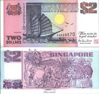 Singapur Pick-Nr: 37 Bankfrisch 1998 2 Dollars - Singapore