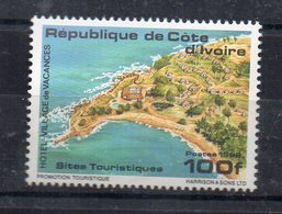 COTE-D'IVOIRE - IVORY-COAST - 1992 - SITES TOURISTIQUES - TOURIST ATTRACTIONS - VILLAGE DE VACANCES - HOLIDAYS VILLAGE - - Ivory Coast (1960-...)