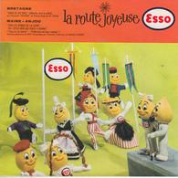 La Route Joyeuse ESSO - Bretagne Maine Anjou ( Disque Souple )  PRIX FIXE - Special Formats