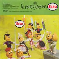 La Route Joyeuse ESSO - Lyonnais Savoie  ( Disque Souple )  PRIX FIXE - Special Formats