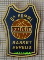 BASKET EVREUX   6e HOMME SUPPORTERS Dpt 27 EURE - Basketball