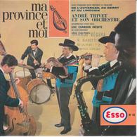 Ma Province Et Moi -  ESSO - Folklore Auvergne Berry Et Limousin   ( Disque Souple )  PRIX FIXE - Formatos Especiales