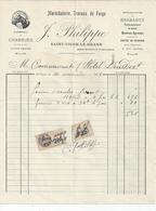 SAINT VIGOR LE GRAND Marechalerie   J PHILIPPE  Pour L'HOTEL DIEU DE BAYEUX 1931 - France