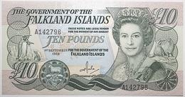 Falkland - 10 Pounds - 1986 - PICK 14a - NEUF - Islas Malvinas