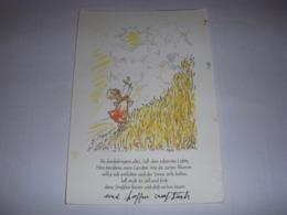 CP CARTE POSTALE MESSAGE DESSIN D'ENFANT Vous Pénétrez Tout... ECRITE - Scènes & Paysages