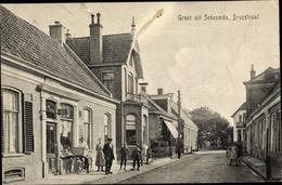 Cp Scheemda Oldambt Groningen, Brugstraat, Laden - Pays-Bas