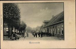 Cp Ruinerwold Drenthe Niederlande, Straßenpartie, Gruppenbild - Non Classés