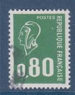 = Type Marianne De Béquet  80c  Vert, Typographié, N°1891b Oblitéré - 1971-76 Marianne (Béquet)