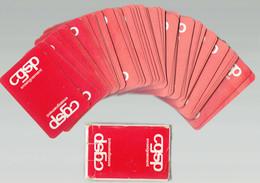 Jeu De Cartes 54 Cartes (avec Jokers) CGSP Enseignement - État Pratiquement Neuf - 54 Cards
