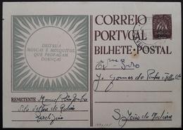 Portugal - Stationery / Inteiro Postal (IP) - PROFILAXIA SOCIAL; Cancel Vila Velha De Ródão ($30 Caravela Sobretaxa $50) - Ganzsachen