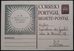 Portugal - Stationery / Inteiro Postal (IP) - PROFILAXIA SOCIAL - Flâmula Porto, 1955 ($30 Caravela Sobretaxa $50) - Interi Postali
