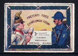WW1- DELANDRE - 1er Rgt D'Infanterie ( 60 X 42 Mm )  - Vignette NEUVE ( Sans Traces De Charnières ) - NMNH - Vignettes Militaires