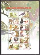 Indonesia 2010 MiNr. 2853 - 2863  Indonesien Flora Fauna Animals Birds M\sh MNH** 7,50 € - Orsi