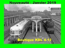 ACACF 584 - Autorail Renault ABJ 2 Et Loco 140 C 162 En Gare - SAINT-BRIEUC - Côtes D'Armor - SNCF - Saint-Brieuc