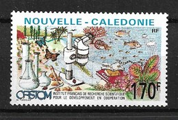 NEW CALEDONIA 1991  BUTTERFLIES  And Sience MNH - Schmetterlinge