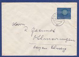 Brief Einzelfrankatur MiNr. 339 (br9943) - BRD