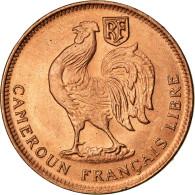 Monnaie, Cameroun, 50 Centimes, 1943, Pretoria, SPL, Bronze, KM:6 - Kamerun