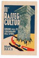 1951 YUGOSLAVIA,STT-VUJA-TRIESTE, 21.10.1951. PIRAN,SPECIAL CANCELATION:CULTURAL EXHIBITION - Yugoslavia