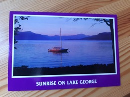 Postcard, USA - Lake George, New York, Mint - Lake George