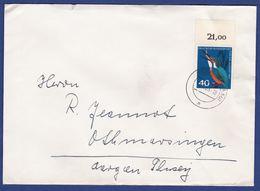 Brief Einzelfrankatur MiNr. 404 (br9958) - [7] Federal Republic