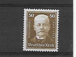 Reich   N° 397  Xx Postfris - Nuevos