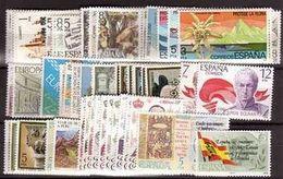 España 1978 Edifil 2451/2556 Sellos ** Año Completo Spain Stamps Timbre Espagne Briefmarke Spanien Francobolli Spagna - 1971-80 Ongebruikt