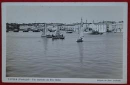 Postcard Of The Tavira  /  Aspecto Do Rio Gilao ( Lote N º 882 ) - Faro