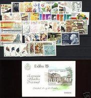 España 1985 Edifil 2778/2824 Sellos ** Año Completo Con Hojitas Spain Stamps Timbre Espagne Briefmarke Spanien Francobol - 1971-80 Ongebruikt