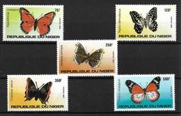 NIGER 1983 BUTTERFLIES  MNH - Butterflies