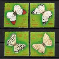 OMAN 2000 BUTTERFLIES  MNH - Schmetterlinge
