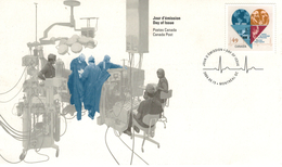 Canada Institut De Cardiologie Monreal 1954 - 2004 EKG Herz  Kardiologie - Médecine