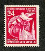 DDR- 3230  DDR 1952 Mi.# 320* ( Cat.€.80 ) - [6] République Démocratique