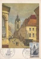 DOUAI. 1er Jour(11 Fév 1956). Véritable Timbre. Cercle Philatélique Du Douaisis - Douai