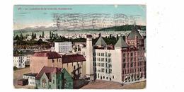 SPOKANE, Washington, USA, Bird's Eye View, Mt. Carleton, 1910 Mitchell Postcard - Spokane