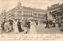 Ostende : Cléo De Merode Sur La Digue 1903 - Oostende