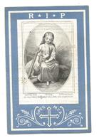 Faire Part De Décès Marie Hussin Perwez 1868-1885 - Andachtsbilder