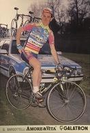 Postcard Gianluigi BARSOTTELLI  -  Amore & Vita-Galatron - 1993 - Ciclismo