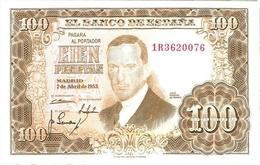 Billet Espagne 100 Pesos - 100 Peseten