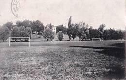 CPA  Genève (Suisse) Château De Lancy  Institution Pour Jeunes Gens Terrain De Football  Signée Brunel. - GE Ginevra