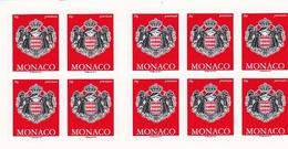 MONACO Carnet N°18** De 2017 - Carnets